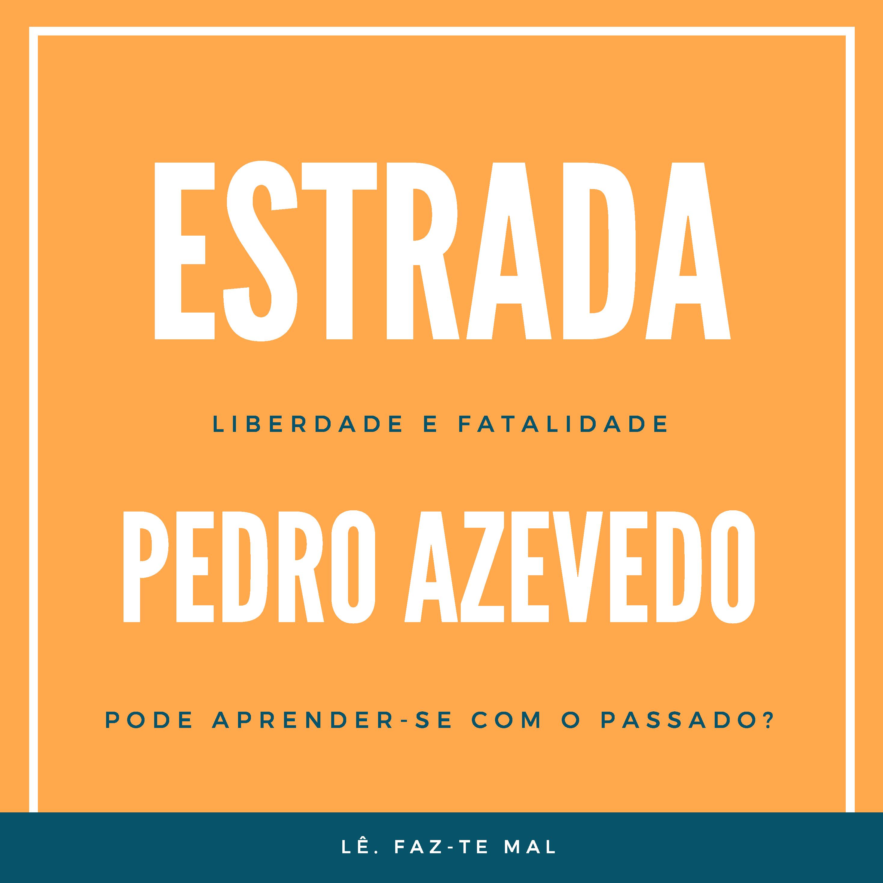 """capa de livro """"ESTRADA"""""""
