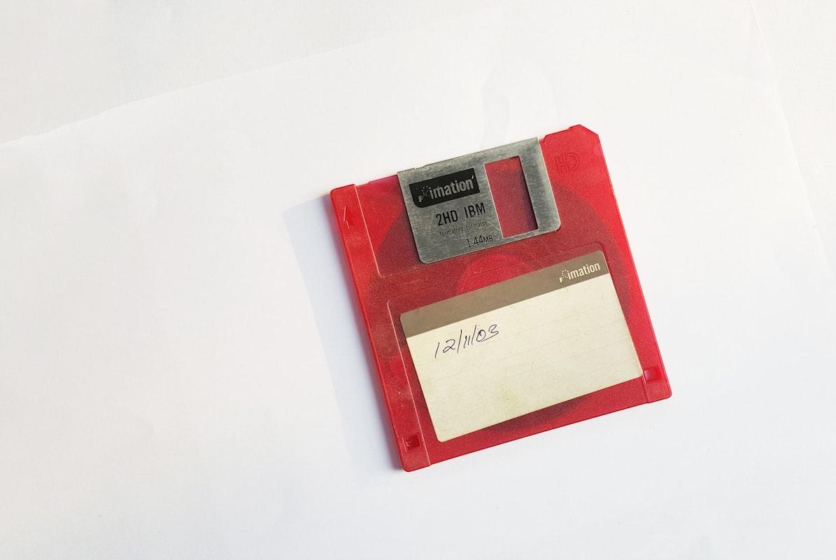 Floppy Disk. Arquivo