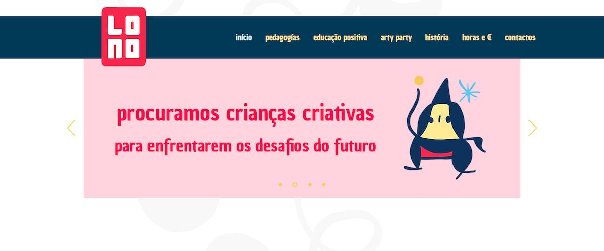 página do projeto LONO